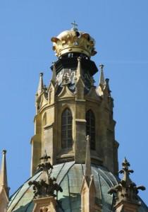 Kopule kostela Nanebevzetí Panny Marie