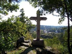 Kříž na vrchu Kalvárie