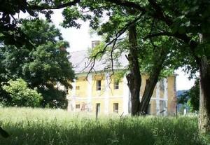 Zámek Daňkov, červen 2008
