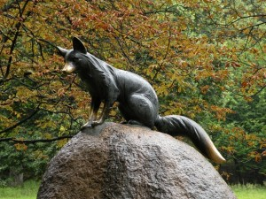 Liška Bystrouška v oboře