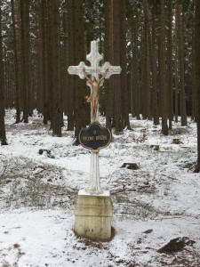 Křížek u rozcestí, únor 2016