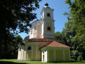 Tanaberk - kostel, červen 2009
