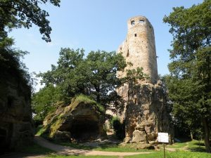 Zřícenina hradu Valečov, 25.7.2016