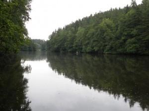 Odlezelské jezero, červenec 2011