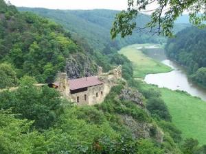 hrad Krašov, červenec 2006
