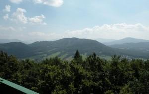 rozhledna Bílá hora - výhled