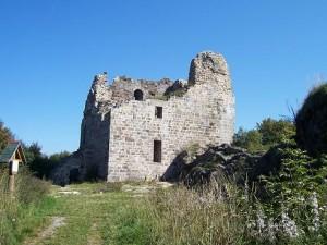 Zřícenina hradu Přimda, září 2006