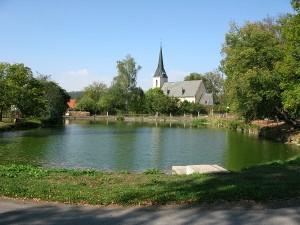 Kostel v Křivoklátě