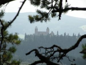 Výhled na hrad Kašperk, 2012