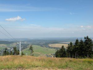 Výhled z Klínovce,